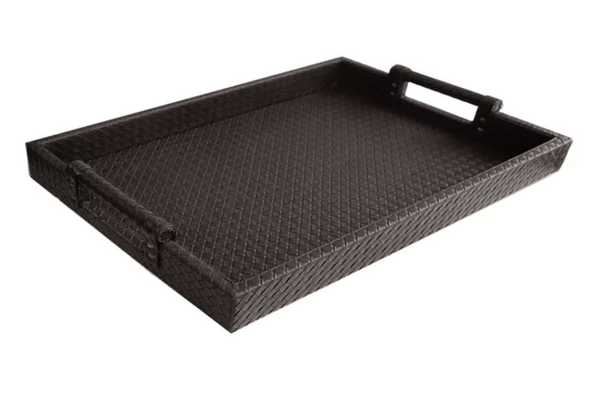 Yara Leather Tray - Wayfair