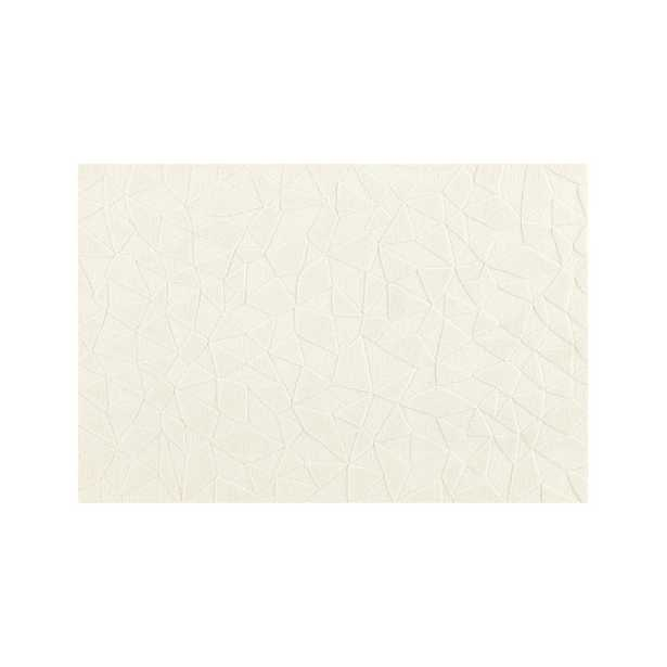 Modern Solid Cream Rug 8'x10' - Crate and Barrel