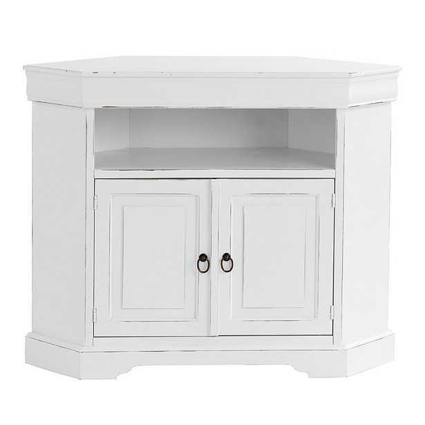 Angullo Corner Media Cabinet - Ballard Designs