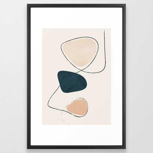 """Wildline I Framed Art Print, 26"""" x 38"""" - Society6"""