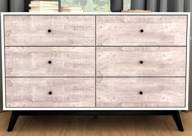 Swartwood 6 Drawer Dresser - Wayfair