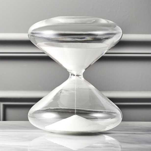 White Sand Hour Glass - CB2