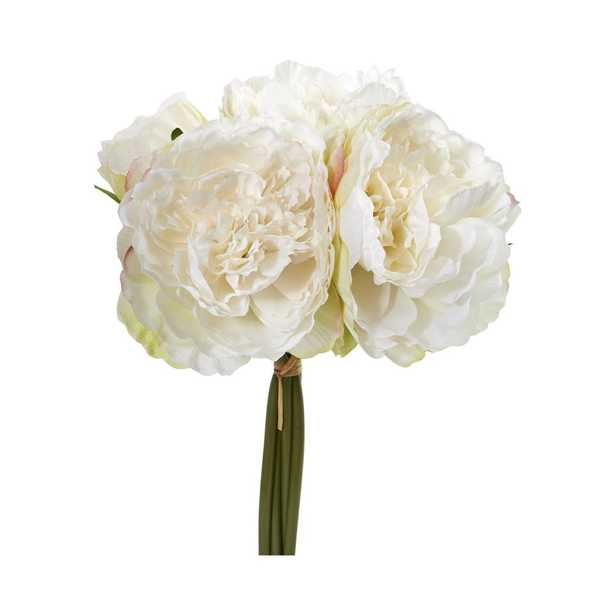 Peony Bouquet Artificial Flower (Set of 6) - Fiddle + Bloom