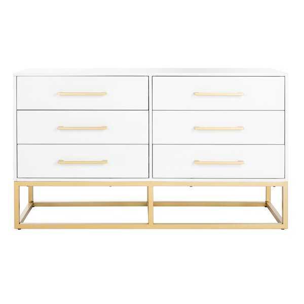 Maxson 6 Drawer Double Dresser - AllModern