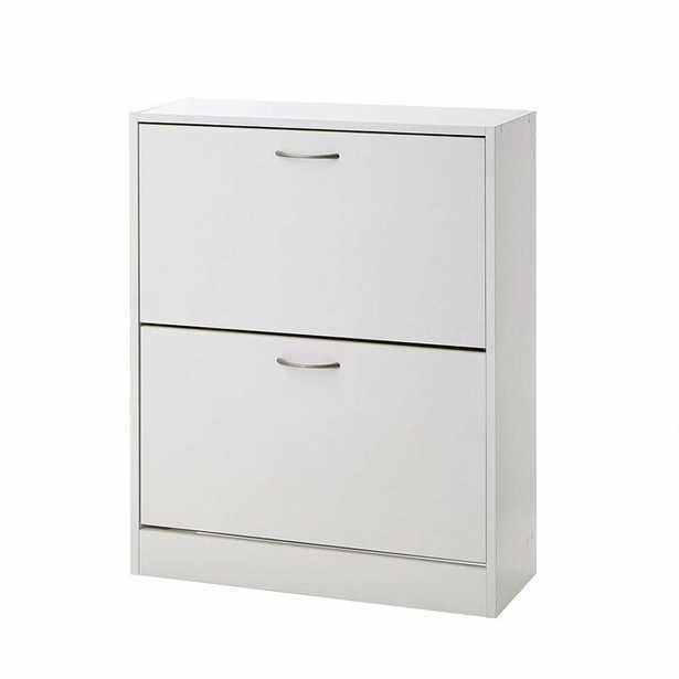 Double Door 12 Pair Shoe Storage Cabinet - Wayfair