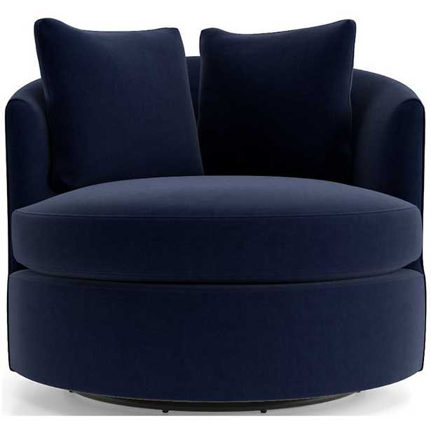 Tillie Swivel Chair - Crate and Barrel