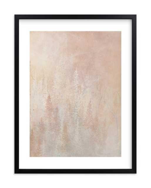 Shine., 18x24 - Black Wood Frame with White Border - Minted