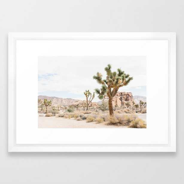 Joshua Tree Boho Cactus Desert Wall Art Landscape Photogrpraphy Print - Society6