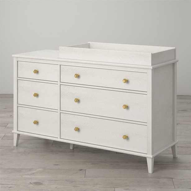 Ivory Oak Monarch Hill Poppy Changing Table Dresser - Wayfair