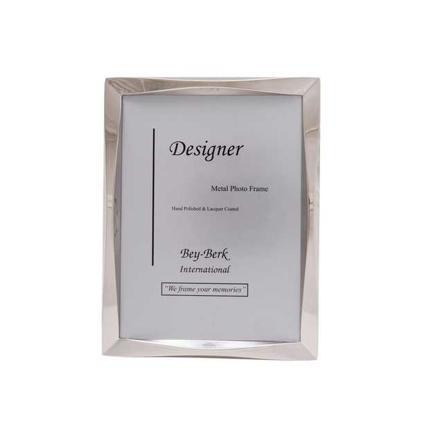 Aucoin Silver Tone Picture Frame - Wayfair