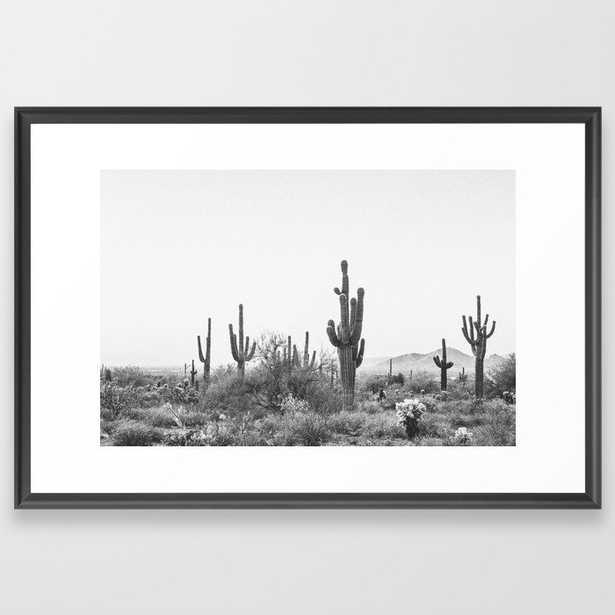 DESERT / Scottsdale, Arizona Framed Art Print - Society6