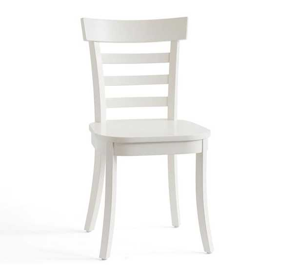 Liam Dining Side Chair, White - Pottery Barn