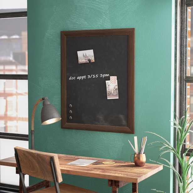 Brucie Framed Magnetic Wall Mounted Chalkboard - Wayfair