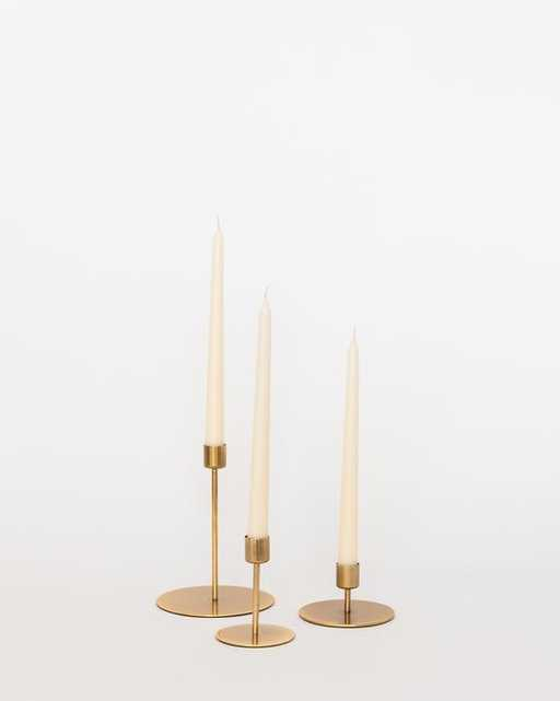 GOLD CANDLE HOLDER - McGee & Co.