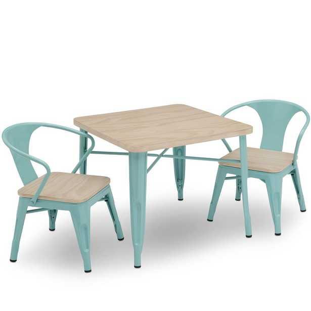 Glastonbury Kids 3 Piece Writing Table and Chair Set - Wayfair