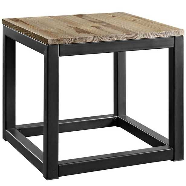 ATTUNE SIDE TABLE IN BROWN - Modway Furniture