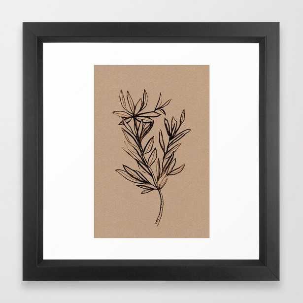 Seedling Framed Art Print - Society6