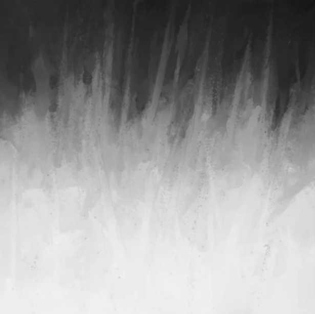 Ice Rays in a Black Sky Canvas Print - Society6