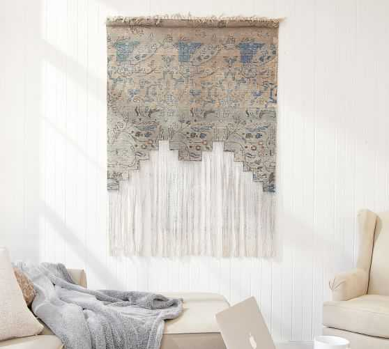 Rug Tapestry, Blue - Large - Pottery Barn