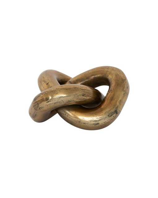 BRASS INFINITY KNOT - McGee & Co.