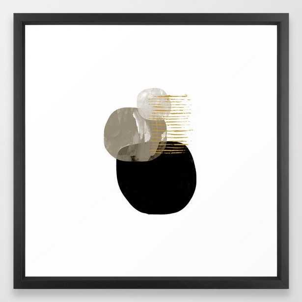 Minimal Tone Framed Art Print by Dan Hobday Art - Society6