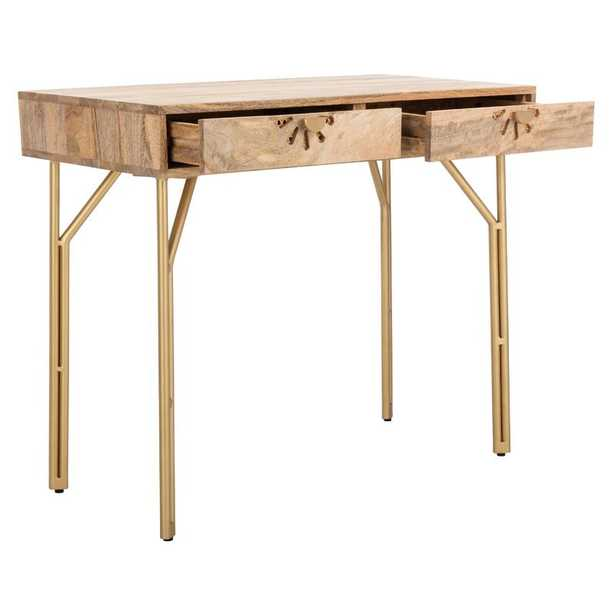 Seifert Solid Wood Desk - Wayfair