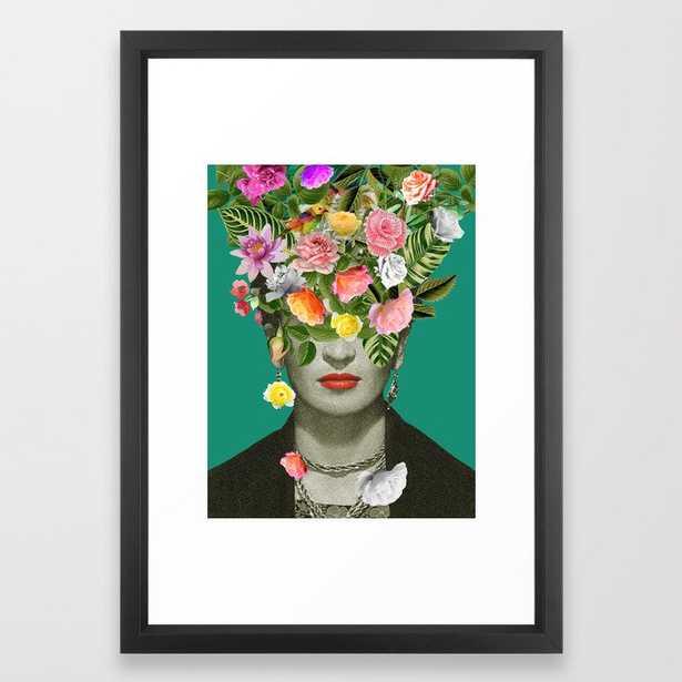 Frida Floral Framed Art Print - Society6