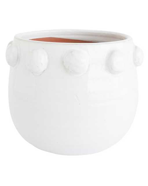 DOTTED TERRACOTTA PLANTER - LARGE - McGee & Co.