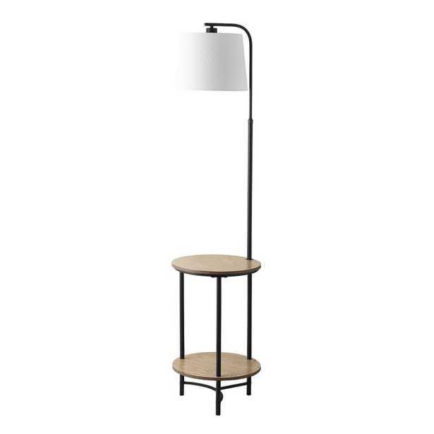 "Vidaurri 63"" Tray Table Floor Lamp - Wayfair"