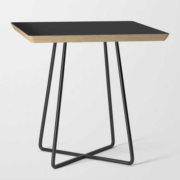 Black End Table - Basics - Square - Society6