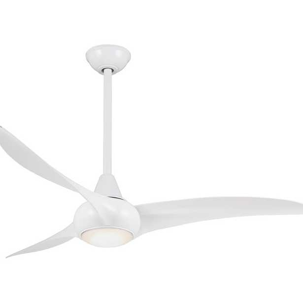 """52"""" Wave 3 Blade Ceiling Fan with Remote - Wayfair"""