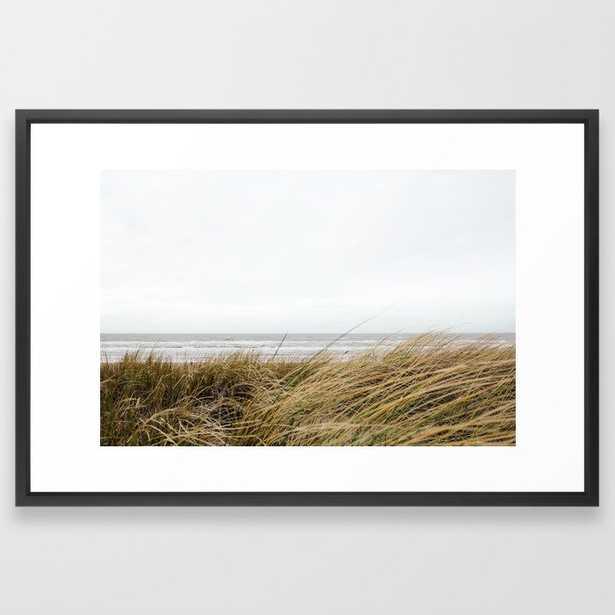 Beach Grass Framed Art Print - Society6