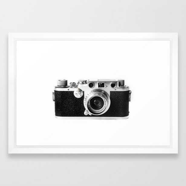Old Camera Framed Art Print - Society6