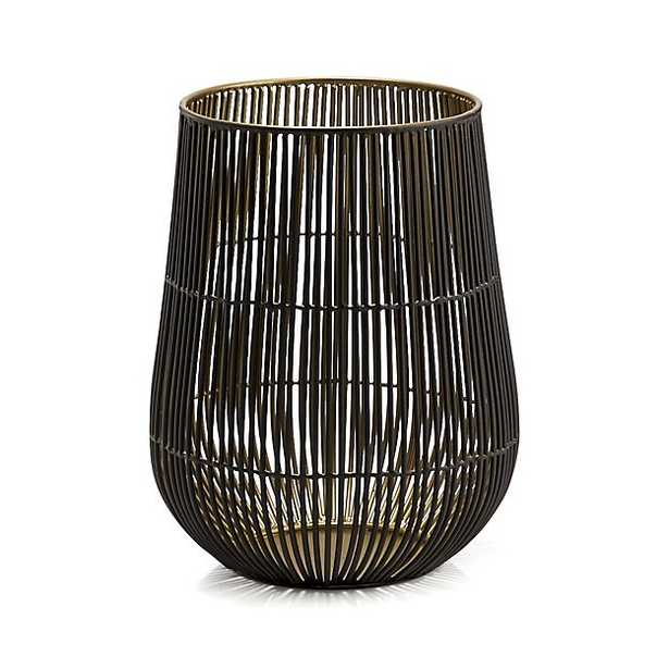 Kent Wire Medium Hurricane Candle Holder - Crate and Barrel
