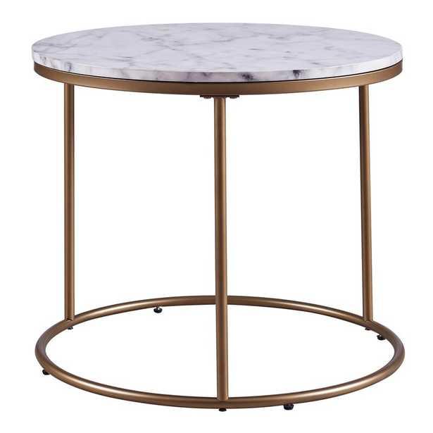 Carbone End Table - Wayfair