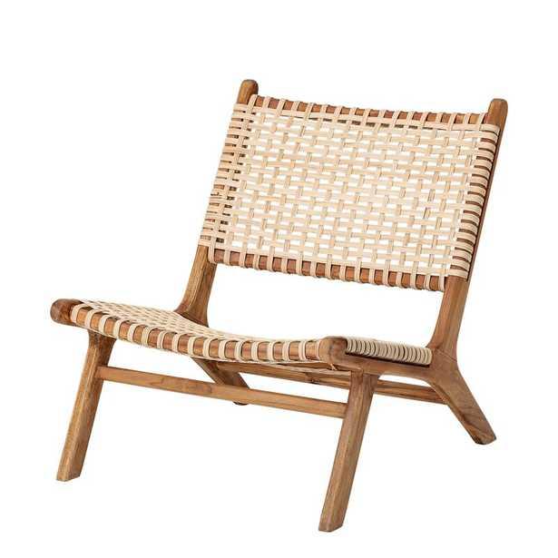 "Springtown Woven Rattan 31.5"" Side Chair - Wayfair"