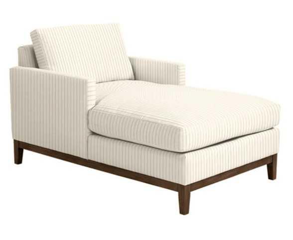 Hartwell Upholstered Chaise- - Ballard Designs