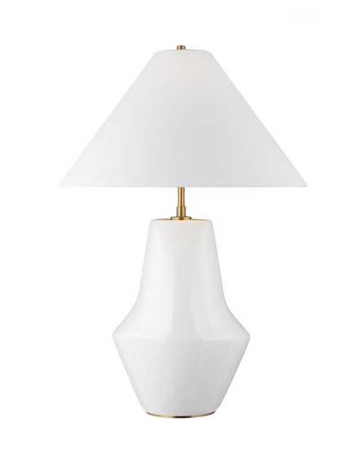 CONTOUR TABLE LAMP - White - McGee & Co.