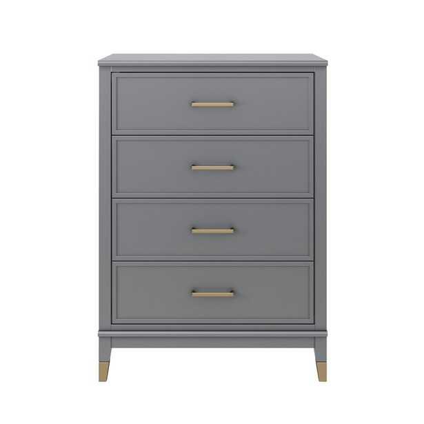 Westerleigh 4 Drawer Chest - gray - Wayfair
