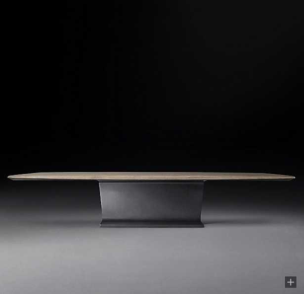 I-BEAM RECTANGULAR COFFEE TABLE - RH Modern