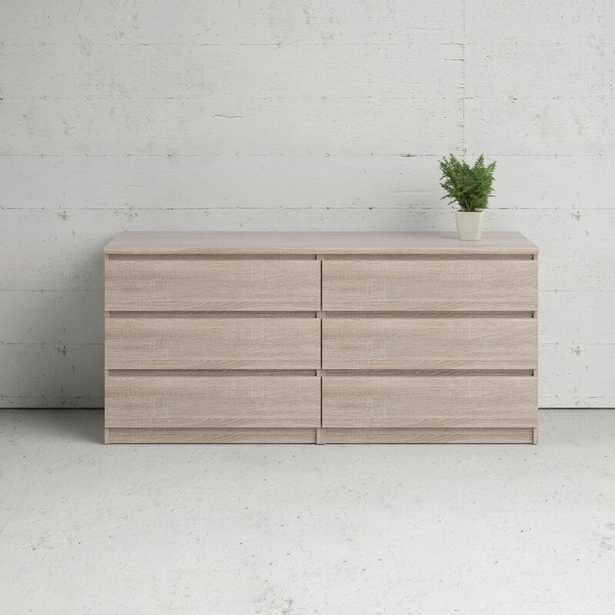 Kepner 6 Drawer Double Dresser - Wayfair
