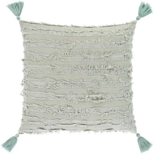 """Noemi Pillow, 18""""x 18"""", Sage - Roam Common"""