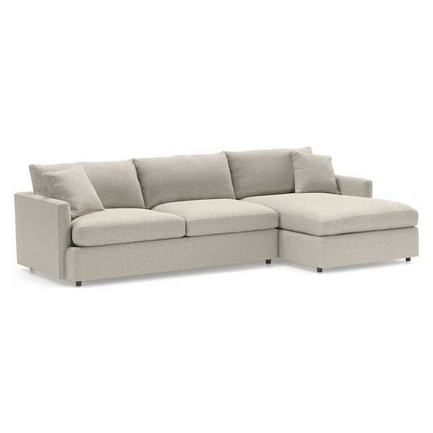 Lounge 2-Piece Sectional Sofa - Crate and Barrel