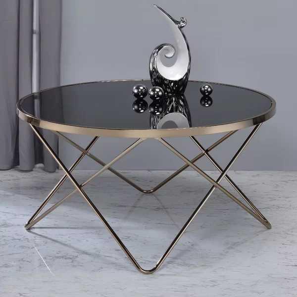 Rhiannon Coffee Table - Black - Wayfair