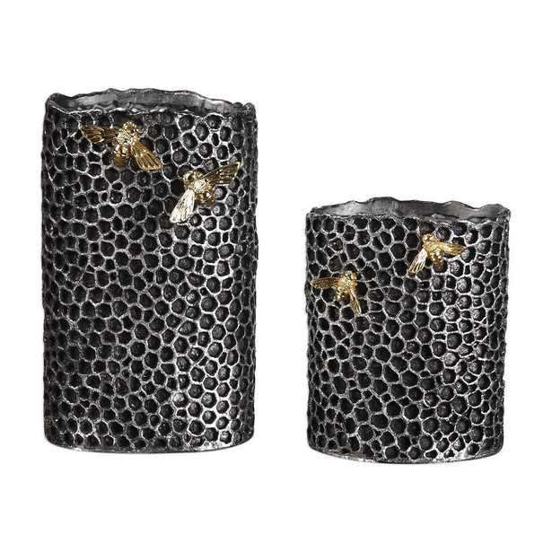 HIVE VASES, S/2 - Hudsonhill Foundry