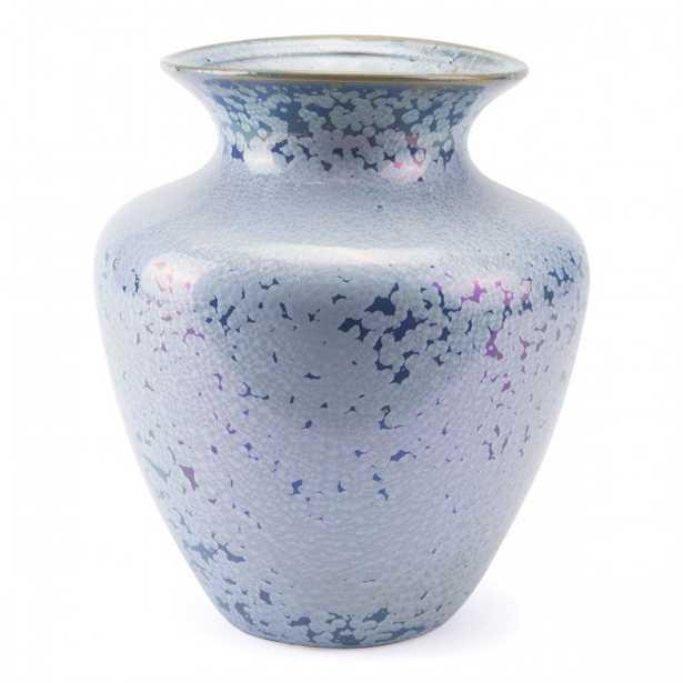 Crystal Blue Tall Vase Blue - Zuri Studios
