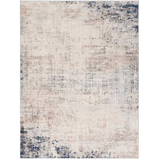 Copenhaver Power Loom Blue/Ivory Rug - Wayfair
