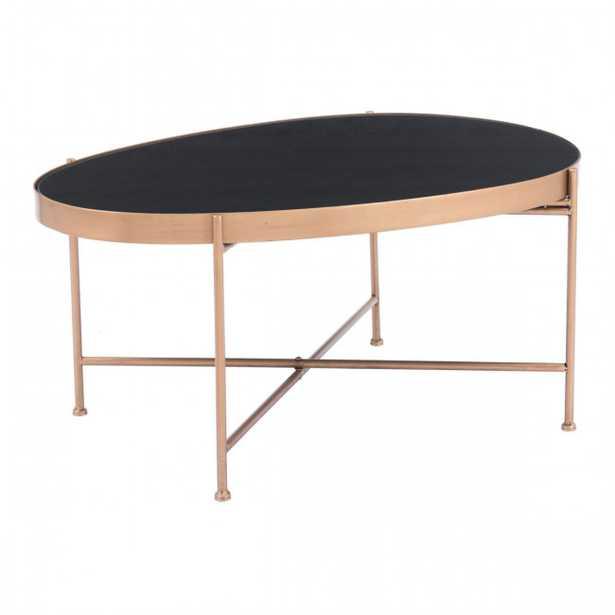 Gotta Coffee Table Black & Gold - Zuri Studios