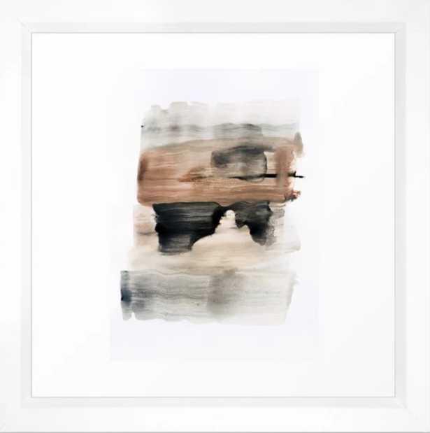 """abstract minimal 9 - 12"""" sq. - vector white - Society6"""