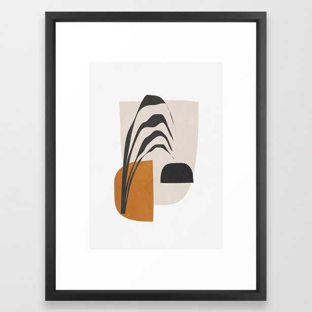 Abstract Shapes 3 Framed Art Print, 20x26 - Society6